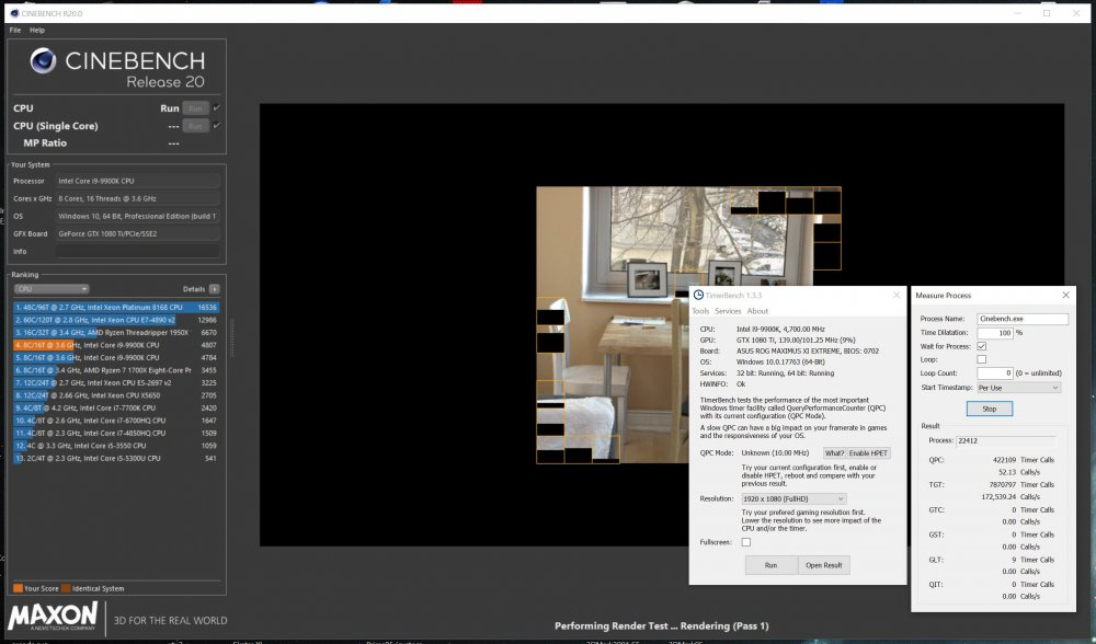 Cinebench R20 - Benchmark software - HWBOT Community Forums